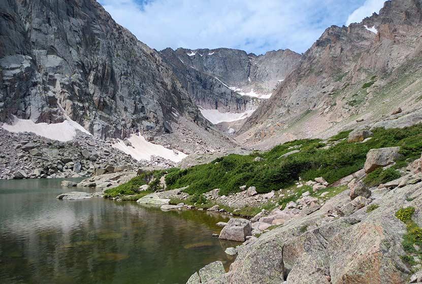 solitude lake rocky mountain national park header