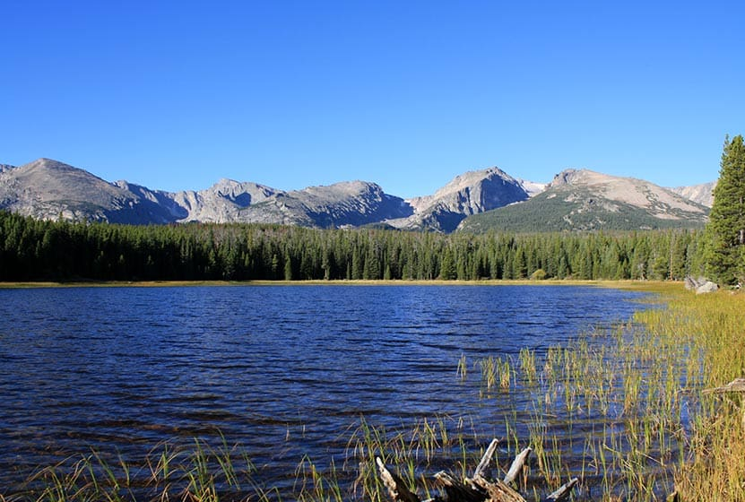 Bierstadt lake in rocky mountain national park day hikes for Fishing near denver