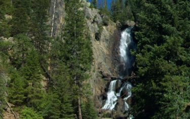 Fish Creek Falls Near Steamboat Colorado