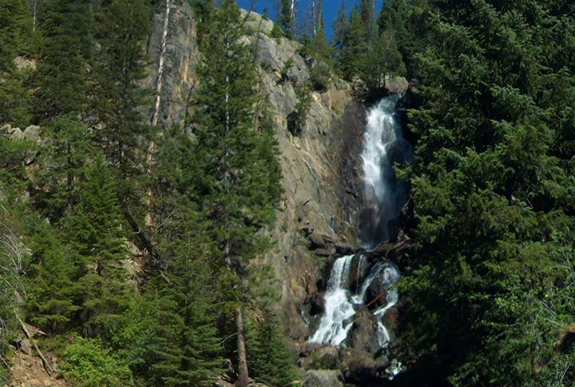 Fish Creek Falls Near Steamboat Colorado Day Hikes Near Denver - Colorado waterfalls map