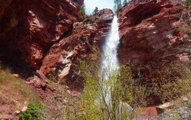 Cornet Falls Near Telluride Colorado