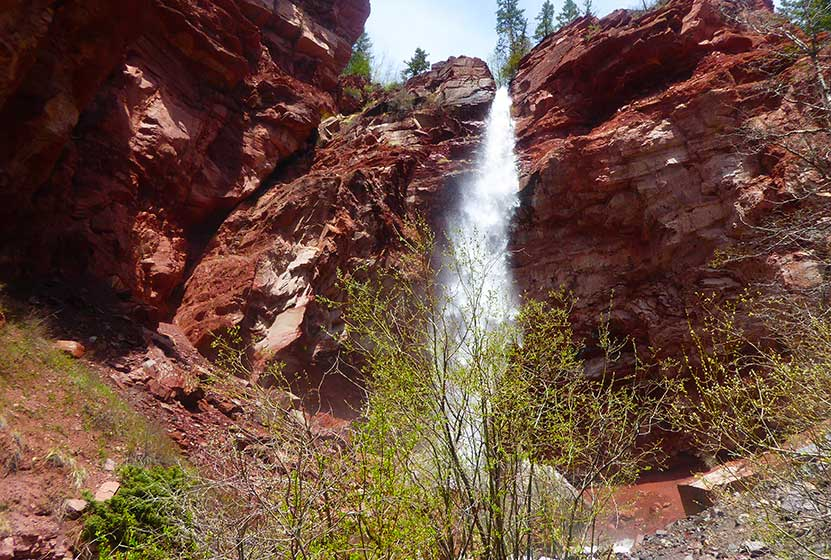 cornet-falls-colorado-hike