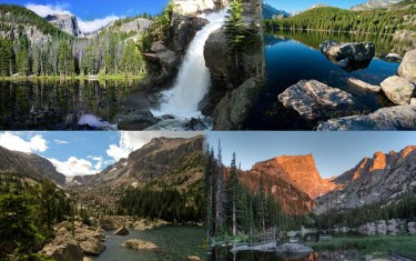 Four Lakes and Waterfall Loop in Rocky Mountain National Park