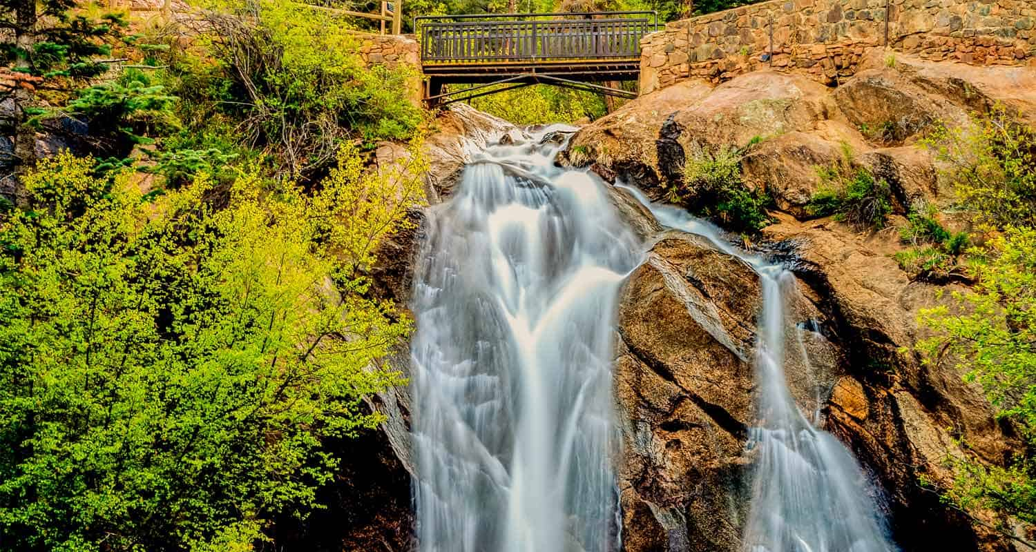 Helen Hunt Falls in Colorado Springs