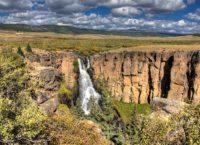 North Clear Creek Falls in Colorado