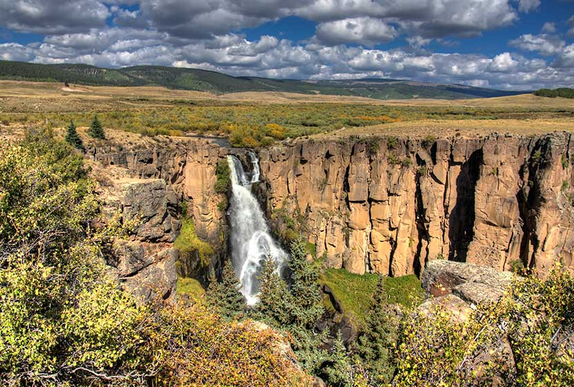 North Clear Creek Falls In Colorado Day Hikes Near Denver - Colorado waterfalls map