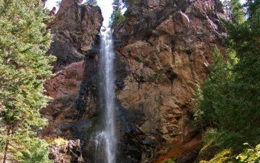 Treasure Falls Near Pagosa Springs Colorado