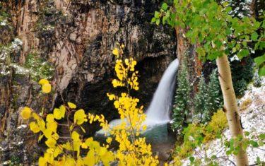 Whitmore Falls Near Lake City Colorado
