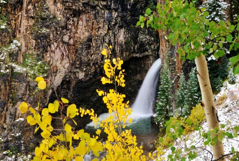 Whitmore Falls Near Lake City, Colorado