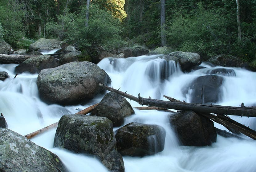 calypso cascades rocky mountain national park header