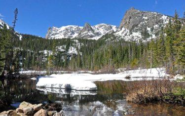 Fern Lake in Rocky Mountain National Park
