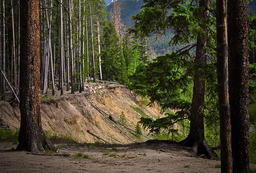 ypsilon lake trail rocky mountain national park