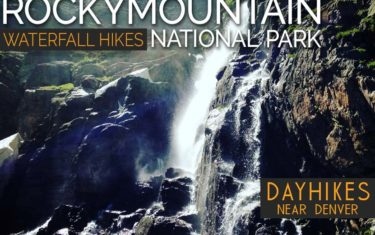 waterfall hikes in rocky mountain national park