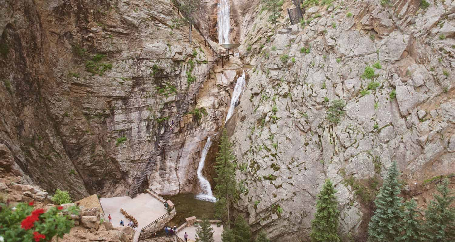 seven falls colorado springs header
