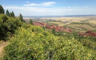 Elk Valley Trail in Roxborough State Park