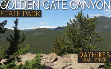 Golden Gate Canyon State Park Hiking Trails