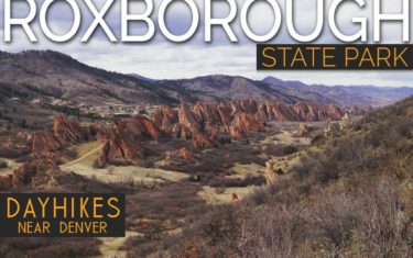 Roxborough State Park Hiking Trails