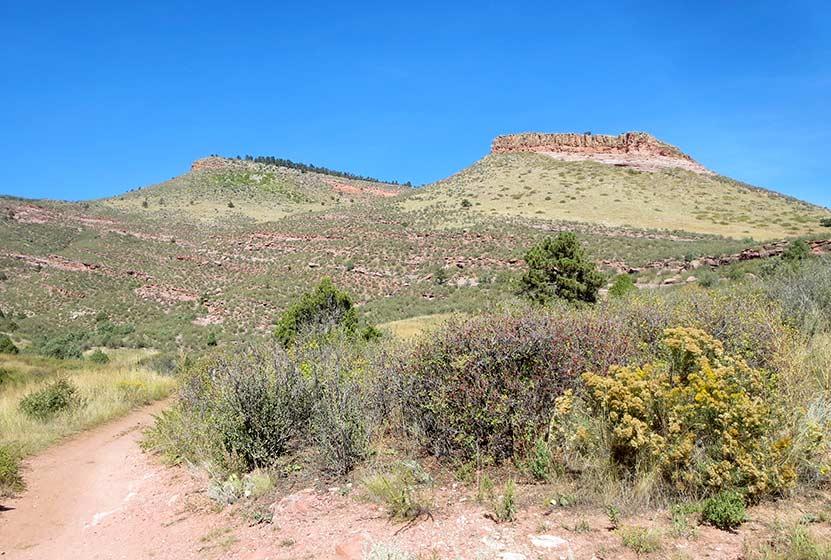 hall ranch near boulder butte