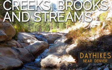 hikes by beauty creeks brooks streams