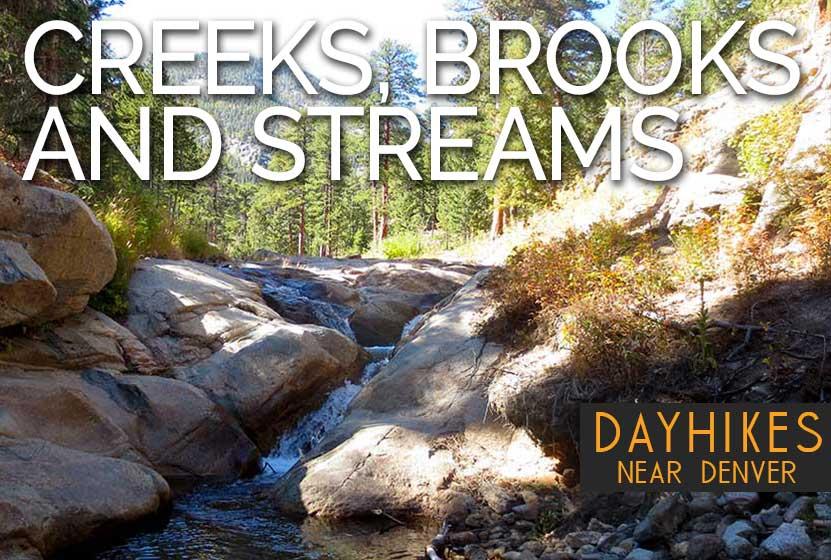 hikes by beauty creeks brooks streams