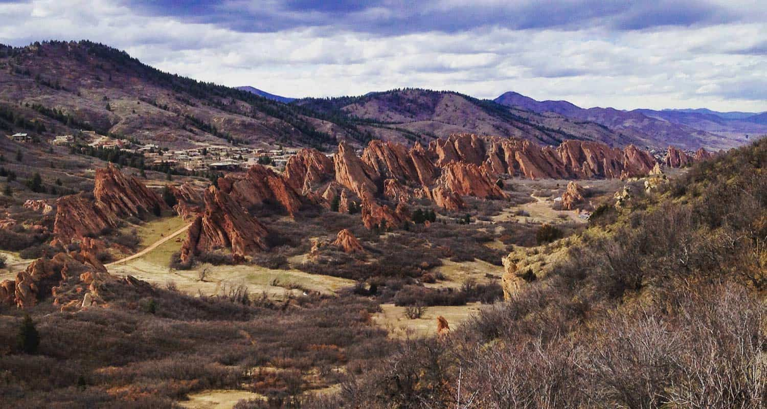 hikes by beauty red rocks
