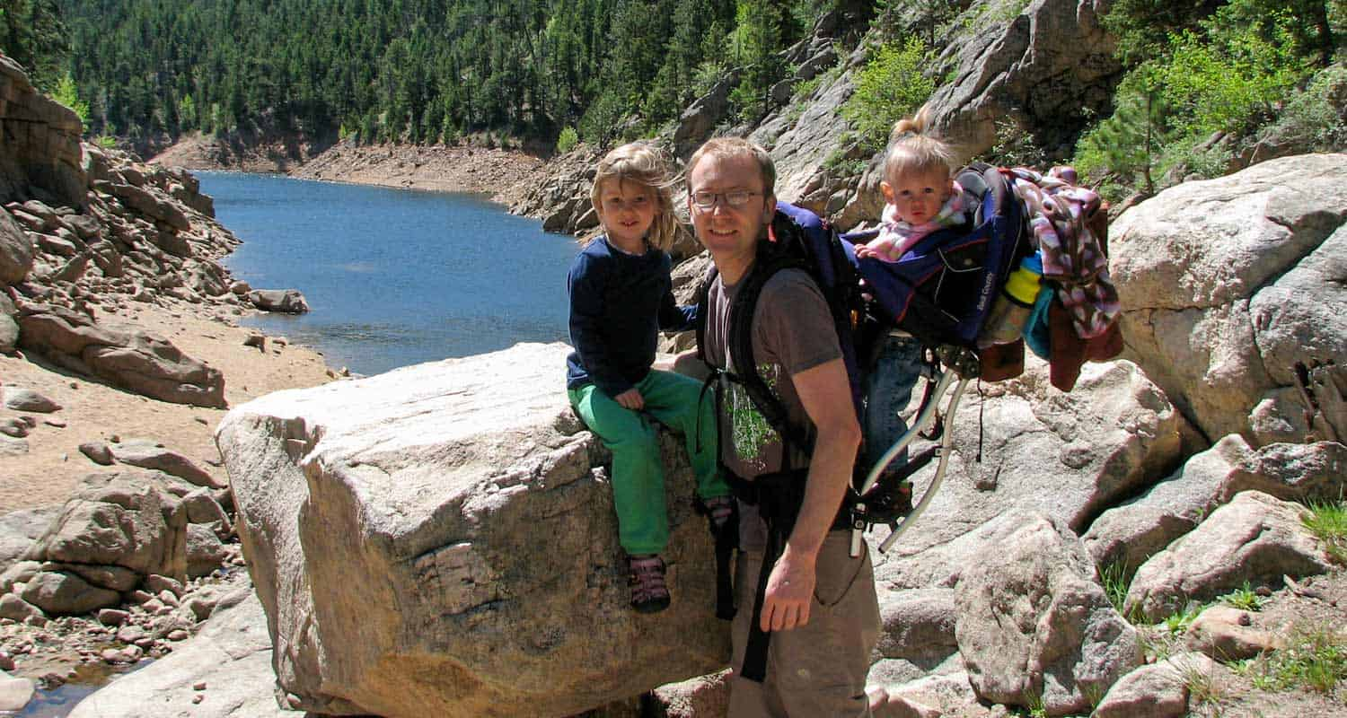best hikes for kids near denver colorado header