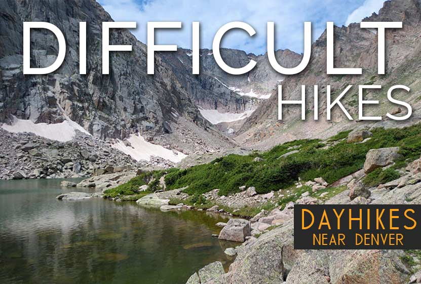 Difficult Hikes Near Denver Colorado