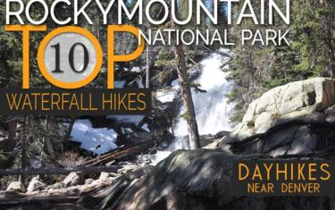 top 10 waterfall hikes in rocky mountain national park