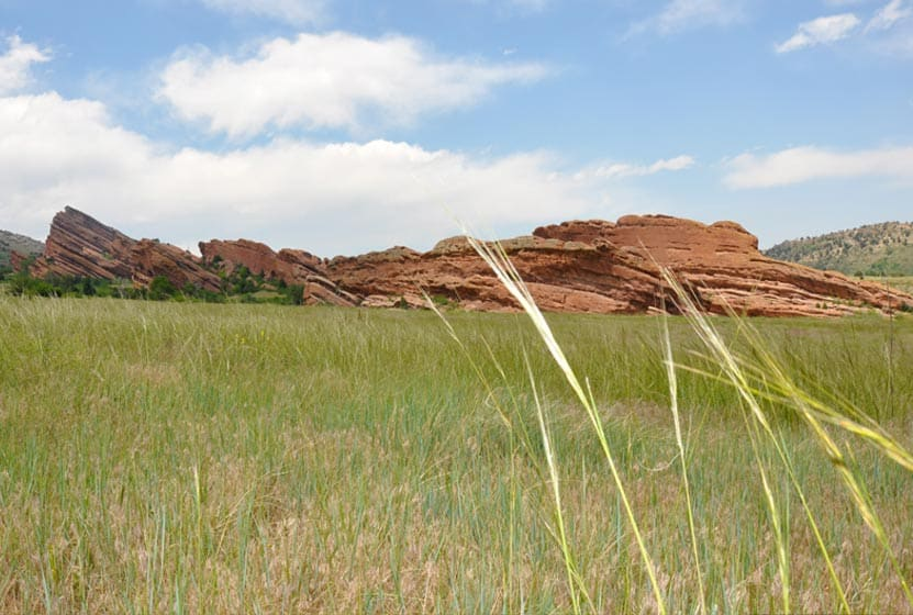 Red Rocks Park in Morrison