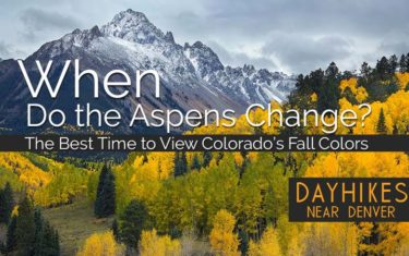 When Do the Aspens Change?