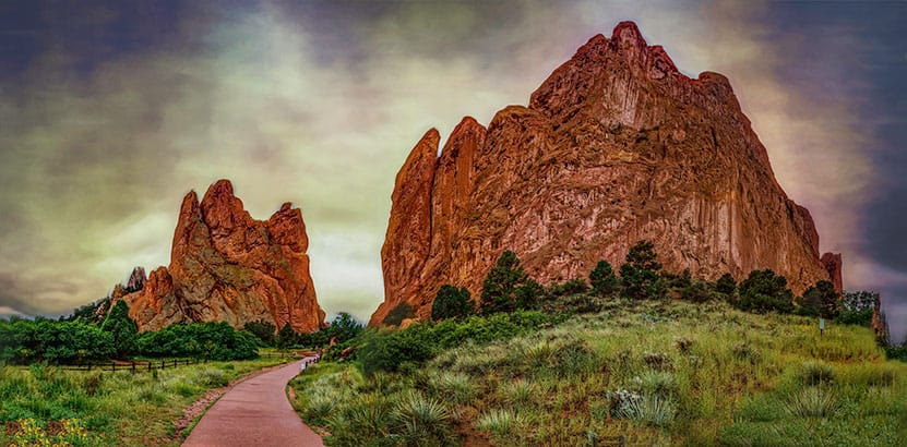 Ultimate guide to hiking garden of the gods day hikes near denver for Garden of the gods hiking trails